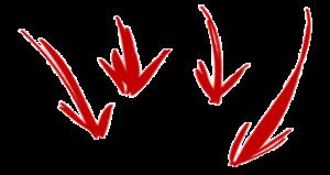 arrows_four_down